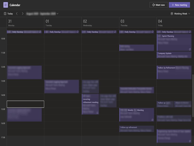 scrum-calendar-with-tons-of-meetings